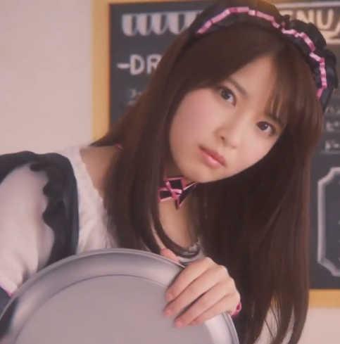 放置少女のCMでメイドカフェ店員のかわいい女の子は誰?名前は木下彩音さん