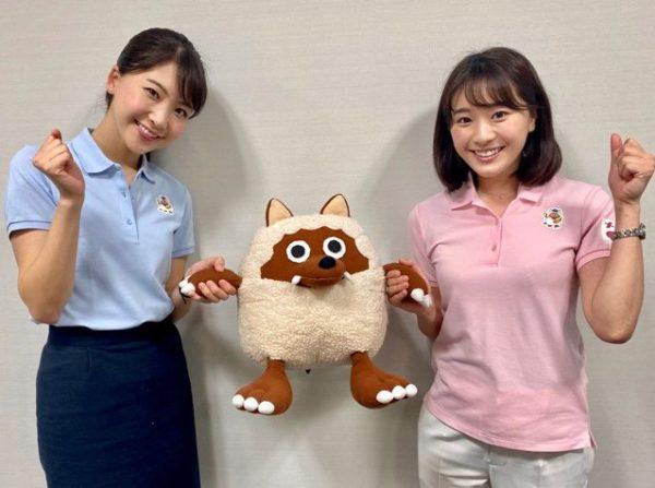 小松崎アナ&西尾アナ