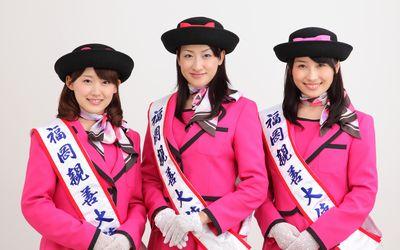 近藤奈央さんの福岡親善大使時代の写真