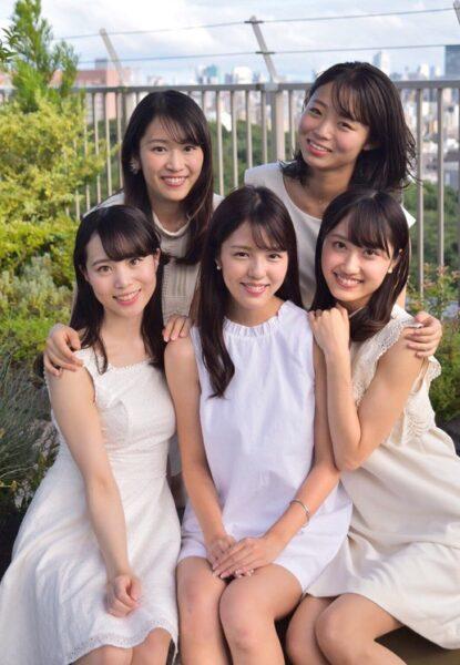 ミス日本女子大学のファイナリストに選出された向山侑希アナ