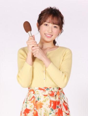 2021年、NHK山形放送局へ契約キャスターとして入社した我孫子明里アナ