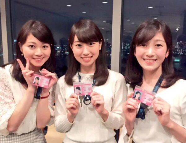 アナトレ時代に西坂早織さん、西ノ入菜月アナと共にフジテレビ31代大学生キャスターを務めていた姫野美南アナ