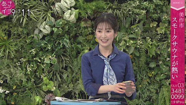 あさイチに出演する姫野美南アナ