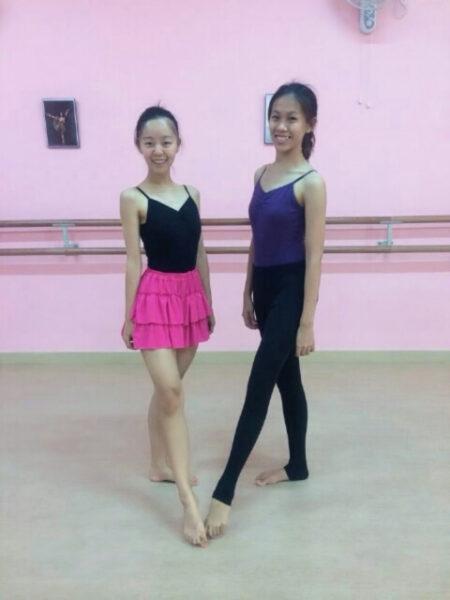 マレーシアに滞在し、ホストシスターとダンス・バレエを体験する道上美璃アナ