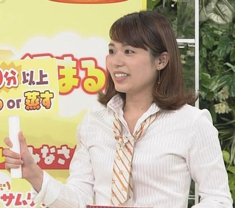 吉岡真央アナのカップサイズを検証