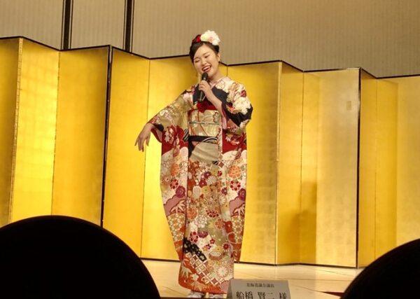 ミス日本酒2020に出場する佐々木夢夏アナ