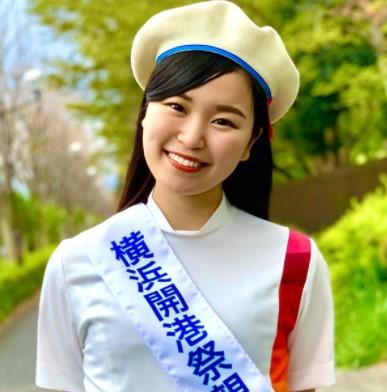 第39回横浜開港祭親善大使に就任した佐々木夢夏アナ