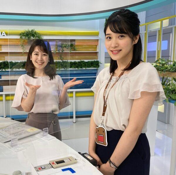 2021年、NHK岡山放送局に配属された松本真季アナ