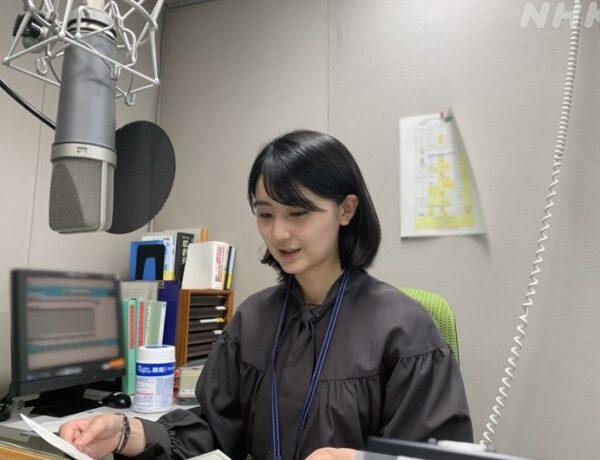 NHK青森放送局でラジオデビューするボブヘアーの斎藤希実子アナ