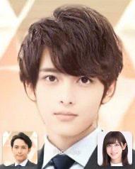 斎藤ちはるアナと小林廣輝アナの子供(男の子)の顔の予想画像