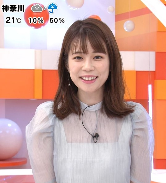 スレンダー美人でかわいい鈴木唯アナ