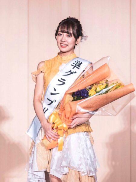ソフィアンズコンテストで準グランプリ、SDGs賞を獲得した三好百花アナ