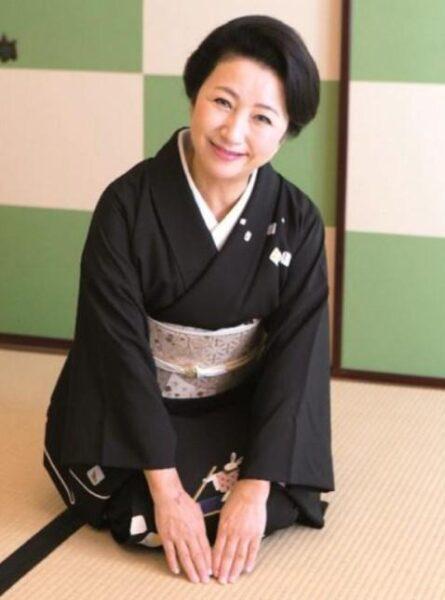 高級料亭「濱田家」の女将で三田友梨佳アナのお母さん、啓子さんの画像