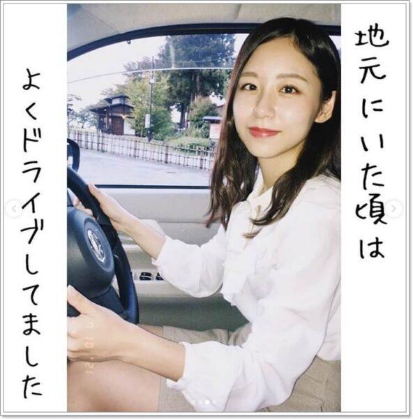 小山内鈴奈アナドライブ