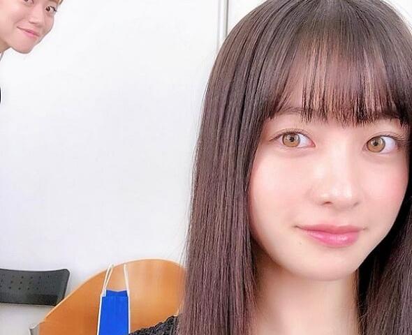 岩田絵里奈アナと同じ色素の薄い目を持つ橋本環奈