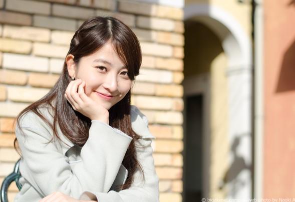 大学生時代の日比麻音子アナ