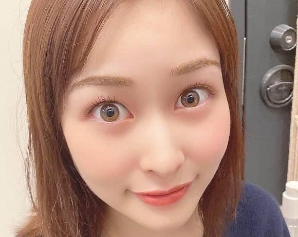 カラコン疑惑のある岩田絵里奈アナの目