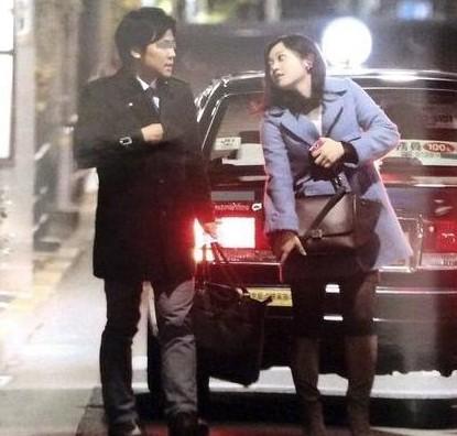 熱愛が報じられた水卜麻美アナと日テレ政治記者のデート現場のスクープ写真