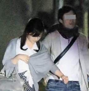 熱愛が報じられた水卜麻美アナと日テレディレクターのデート現場のスクープ写真