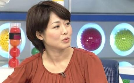 ショートボブ時代の有働由美子アナ