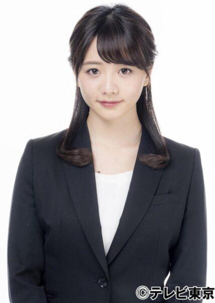 テレビ東京の人気女子アナ、森香澄アナ