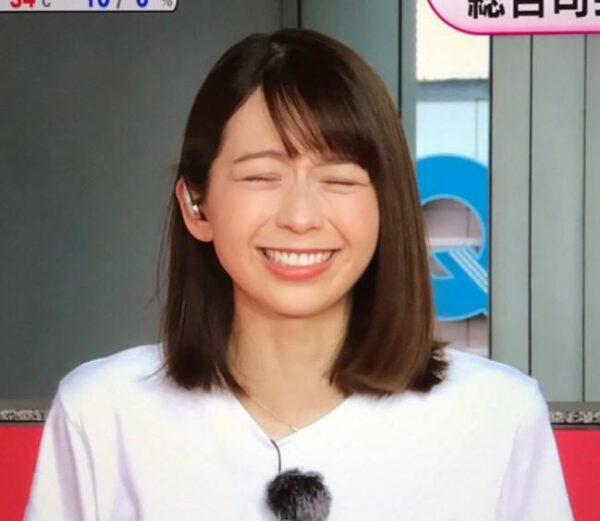 森七菜に似ていると噂の小室瑛莉子アナ
