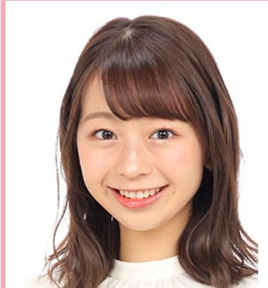 色々な芸能人に似ていると言われている小室瑛莉子アナ