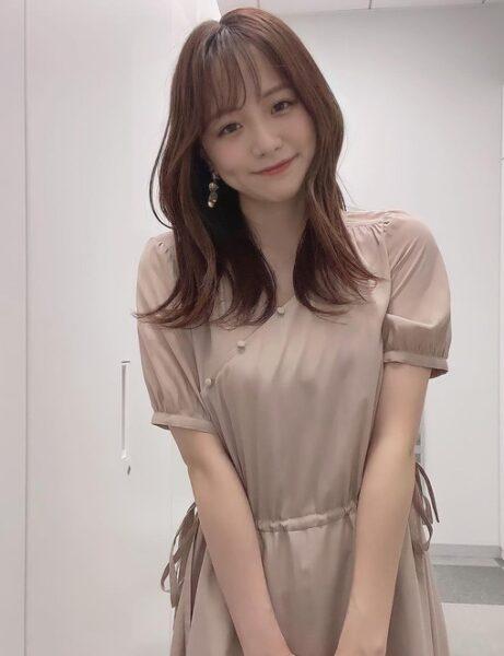 ゆったりした衣装でも存在感が凄い森香澄アナのカップ画像