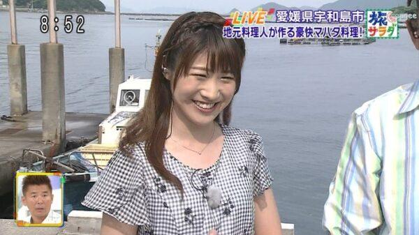 旅サラダに出演されていた坂口愛美アナ