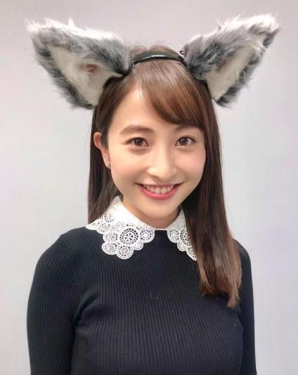 日比麻音子アナの髪型