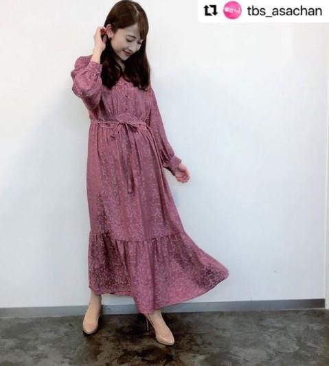 日比麻音子アナの衣装