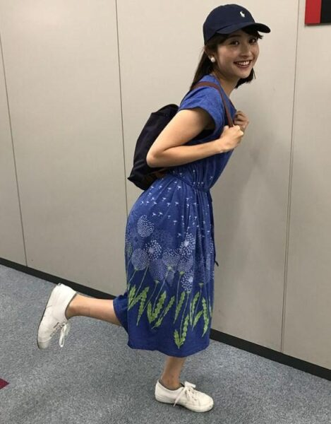 日比麻音子アナの私服コーデ