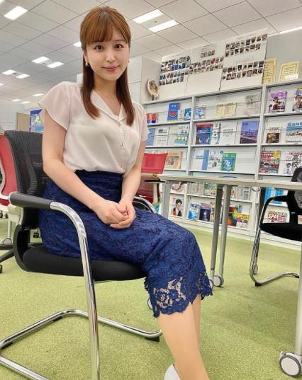 テレ東の女子アナウンサー、角谷暁子アナ